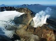 大自然火山爆发瞬间高清壁纸