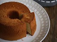 经典蛋糕美食戚风蛋糕图片
