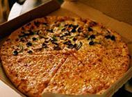 美味可口的披萨美食图片
