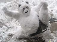 每日爆笑 下雪