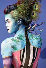 国际人体彩绘节精选图片