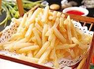 可口酥软的炸薯条图片
