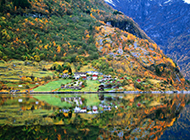 高清梦幻挪威峡湾唯美摄影