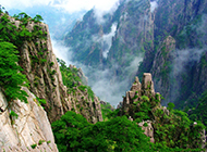 安徽黄山美景图片惊奇绝美