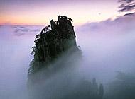庐山云雾风景图片桌面壁纸
