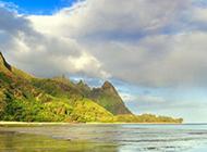 海岛迷离梦幻风景图片高清壁纸