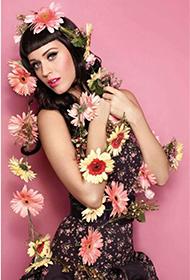 美国美女歌手凯蒂·佩里百变魅力靓照