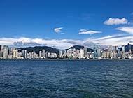 香港维多利亚港风景桌面高清壁纸