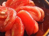 酸甜可口的糖拌西红柿