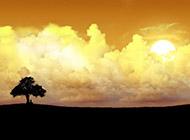 美丽的蓝天白云高清图片