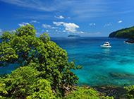 海岛风景壁纸唯美清新的泰国普吉岛