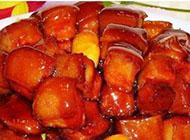 香味俱全的板栗红烧肉高清图片