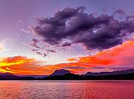 美丽的云南泸沽湖风景图片