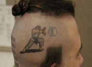 恶搞路人发型图片笑死人