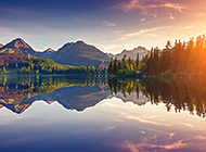 极度美丽的山水自然风景图片