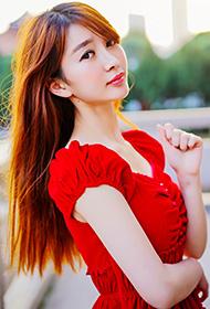 美女旗袍红裙贺新年