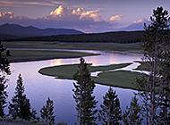 山水平原自然风光图片