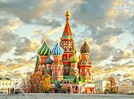 城堡异国古典建筑风景图片
