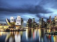 幻梦唯美Marina Bay 新加坡滨海湾高清摄影