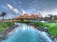 巴哈马群岛唯美风景精美风景图