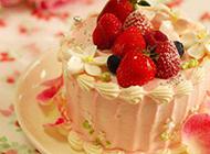 超美味草莓蛋糕图片 美食主题盛宴