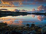 北欧挪威青山绿水自然风景合集