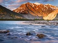 高清加拿大山川风景图片