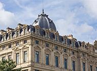法国卢浮宫著名建筑景观图片