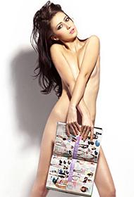 欧美美女Jenny杂志遮羞人体艺术图