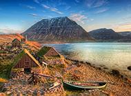冰岛优雅山水风景桌面壁纸