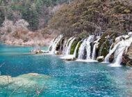 九寨沟冬日优美风景精美图片欣赏