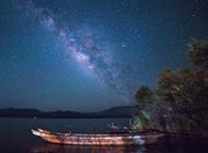 梦幻夜空图片唯美绚丽