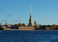 圣彼得堡涅瓦河迷人风景壁纸