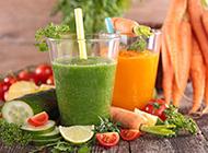 早餐营养蔬菜果汁健康鲜美