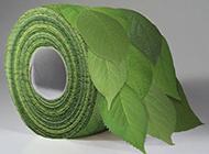 原始的绿色卫生纸