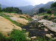 好看的山东桃花峪风景图片