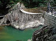 国家旅游景区白水洋风景摄影图片