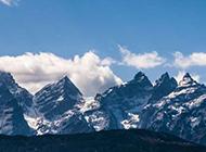 壮丽雪山风景图片高清壁纸