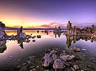 奇美无比的死海和盐湖风光高清桌面墙纸