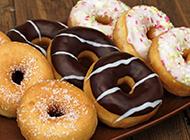 多拿滋甜甜圈打造甜品界的小清新