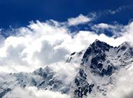 玉龙雪山美景苍茫壮阔