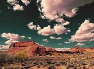 美丽的戈壁天空高清图片