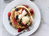 营养早餐搭配摆盘艺术精美