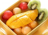 港式芒果甜点图片美味香甜