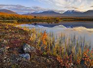 初秋迷人的瑞典自然风光高清桌面壁纸