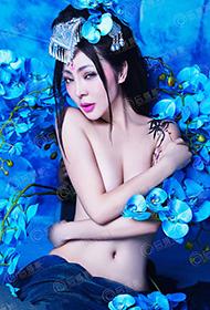 古典美女中国人体艺术摄影图片