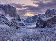 高清冬天山川雪景精美壁纸