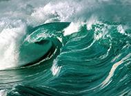 梦幻海洋的碧蓝海浪唯美壁纸