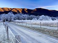 道路风景图片壁纸唯美户外风光