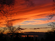 黄昏自然风光图片欣赏